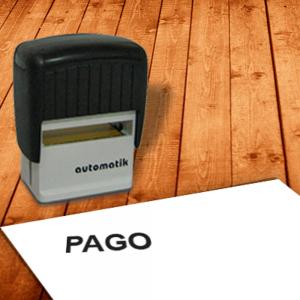 Carimbo Automático PAGO