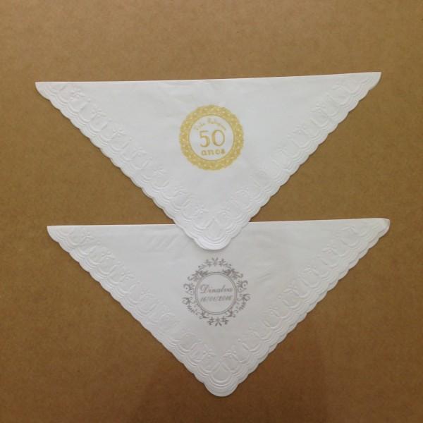 Guardanapo Personalizado Serigrafia - Trevo 24x24